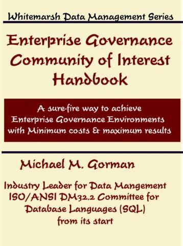 EnterpriseGovernanceCommunityOfInterestHandbook 9780978996871FrontCover